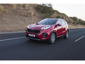 New Sportage Exterior Dynamic Front 05