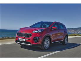 New Sportage Exterior Dynamic Front 06