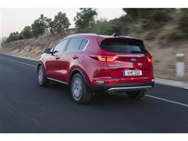 New Sportage Exterior Dynamic Rear 02