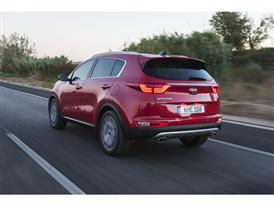 New Sportage Exterior Dynamic Rear 03