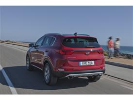 New Sportage Exterior Dynamic Rear 05