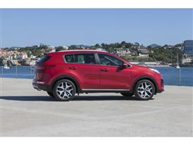 New Sportage Exterior Static 05