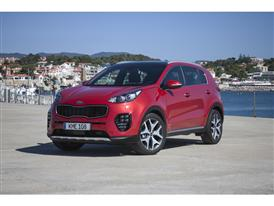 New Sportage Exterior Static 07