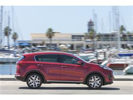 New Sportage Exterior Static 12