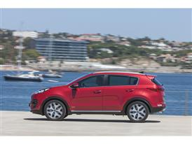 New Sportage Exterior Static 13