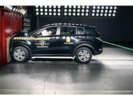 Kia Sportage Crash Test