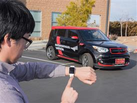 Kia Soul EV Autonomous Vehicle Autonomous Valet Parking