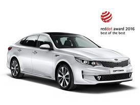 Kia Optima 2016 Red Dot Best of Best