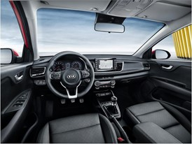 4th Generation Kia Rio - Interior