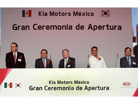 Kia Motors Mexico - Plant Grand Opening Ceremony