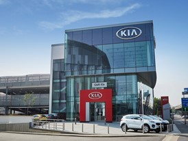 Kia unveils its biggest European dealership in London
