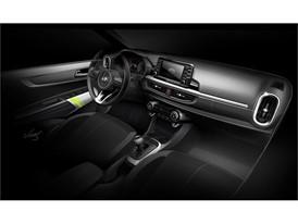 3rd generation Picanto interior rendering