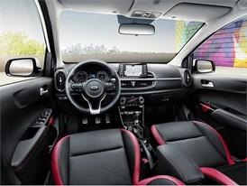 3rd generation Kia Picanto GT Line (interior)