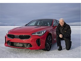 Kia Stinger Winter Testing Albert Biermann
