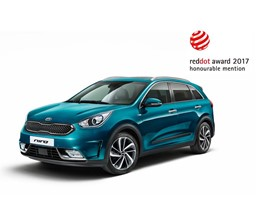 Kia Niro 2017 Red Dot Award