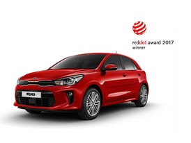 Kia Rio 2017 Red Dot Award