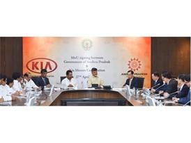 Kia India Plant MOU 2