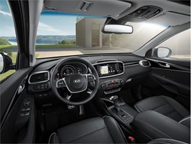 Kia Sorento - Interior view
