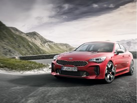Kia Stinger red