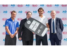 Australian Open - Kia VIK handove