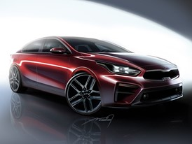 Kia Motors Releases Renderings of All-New 2019 Forte Sedan Ahead of North American International Auto Show World Debut