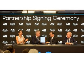 Kia Extends Australian Open Partnership