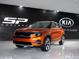 Kia Motors at AutoExpo2018 SP Concept