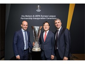 2018 UEFA Europa League sponsorship - Trophy Display