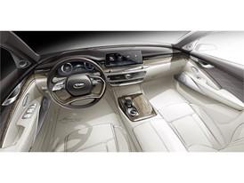 Kia All-New K900 Interior Rendering