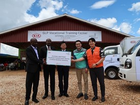 Kia opens 'Green Light Project' vocational training center in Rwanda