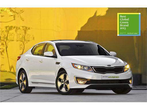 Kia Motors Best Global Green Brands 2013