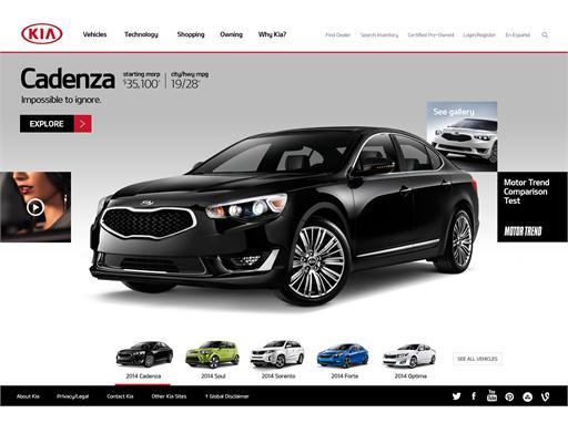 Cadenza Homepage