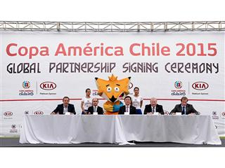 Kia Motors partners with Copa América Chile 2015