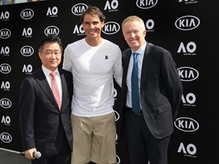 Kia Hands Over Vehicle Fleet for Australian Open 2019