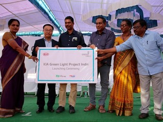 Kia launches global CSR program, 'Green Light Project' in India