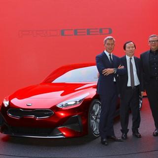 Kia ProCeed Unveil