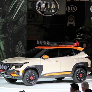 Kia Seltos X-Line - Los Angeles Auto Show 2019