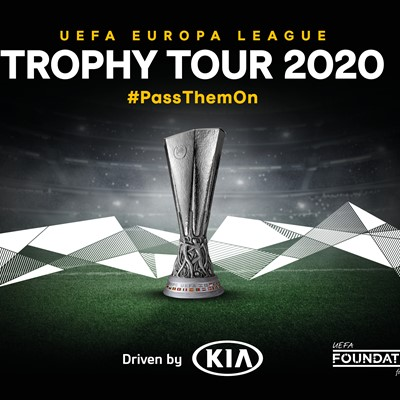 'UEFA Europa League Trophy Tour Driven by Kia' Returns
