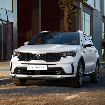 The new Kia Sorento - Front
