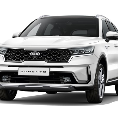 The new Kia Sorento - White Background - Front