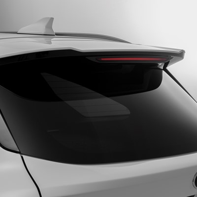 The new Kia Sorento - roof spoiler