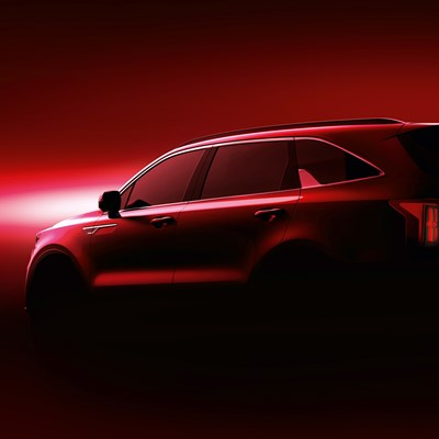 The new Kia Sorento - Teaser rear