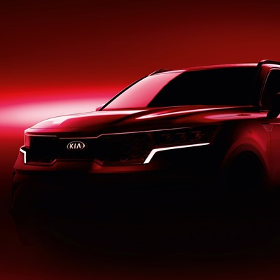 The new Kia Sorento - Teaser Front