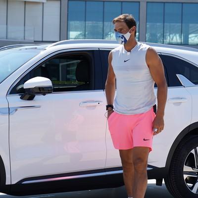 Rafael Nadal with New Sorento Hybrid