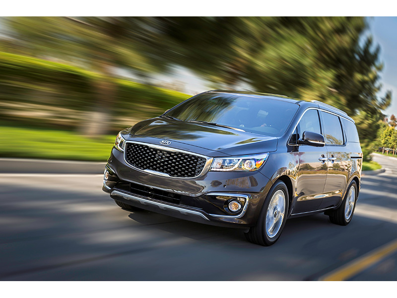 All-new Kia Carnival (Sedona)