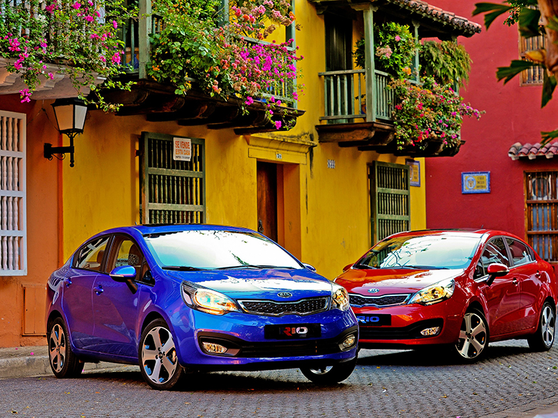 Kia Rio Global Best Seller