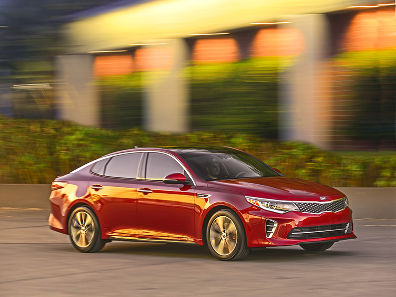 2016 Kia Optima SX 7