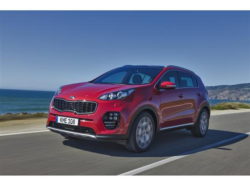 All-New Kia Sportage (front dynamic)