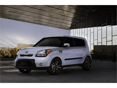 Limited-Run Special Edition 2010 Kia Ghost Soul Arrives in Dealer Showrooms and Brings New Personality to the Soul Line