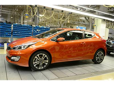 Kia Motors Slovakia records a successful first half of 2013